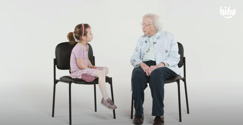 Kids Meet a 101 Year Old | Kids Meet | HiHo Kids – Perspective